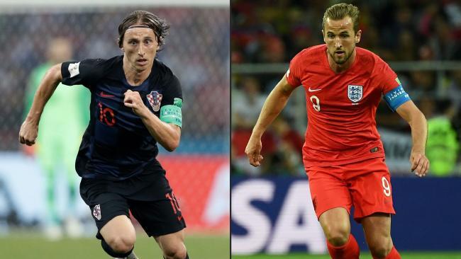 England take on Croatia in the second semi-final.