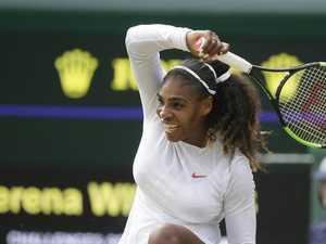 Sense of inevitability as Serena marches on