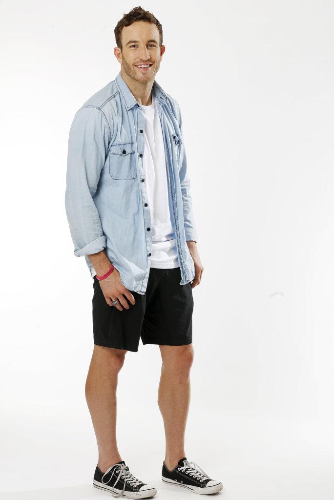 Australian Survivor contestant Sam Webb. Supplied by Channel 10.