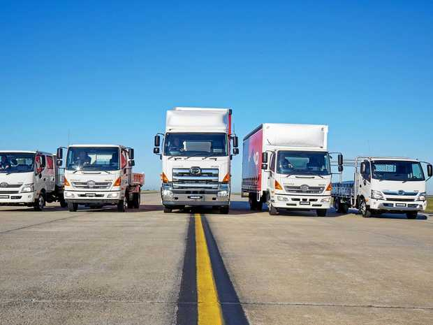 SALES GOLD: The depth of the Hino range is contributing to its sales success.