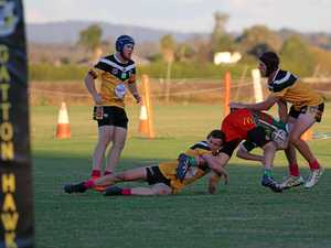 Hawks claw Pittsworth Danes in comprehensive 44-22 win