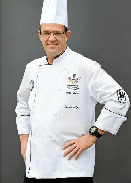 Chef Bradley Martin.