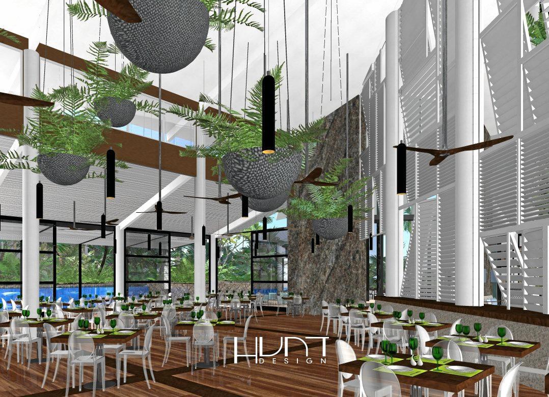 OPEN SOON: Artist impression of the new Graze restaurant in Daydream Island.