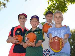 AFL holiday camp gets kids outside