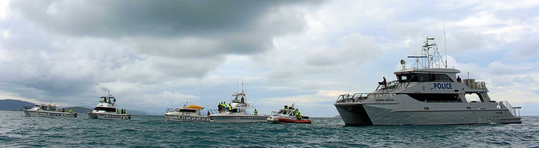 DON'T WORRY: Volunteer Marine Rescue, local SES and Whitsunday Water Police will hold a joint SAREX on July 21 and 22.