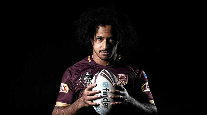 FOCUS: Bundaberg's Felise Kaufusi has been praised by injured Maroon Matt Gillett for his performance in State of Origin this year.