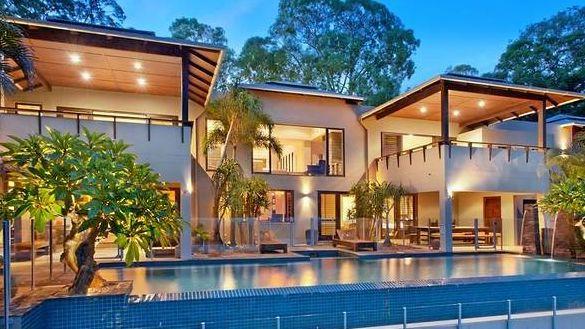 The Noosa hinterland home feels like a Balinese retreat.