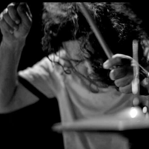 Drummer Allen Herbert one half of Yeppoon band GDub.