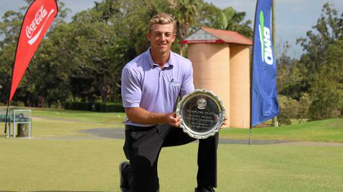 Jacob Boyce, the young Caloundra rookie who is rewriting the record books on the Ladbrokes Pro-Am Tour, scored his third straight win when he outclassed a hot field to win the 72-hole Rockhampton Pro-Am