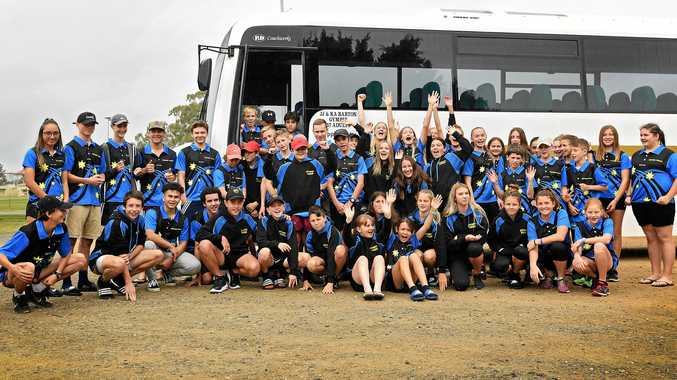 READY FOR THE CHALLENGE: Gympie Touch players head to the Queensland Touch Junior State Cup in Hervey Bay.
