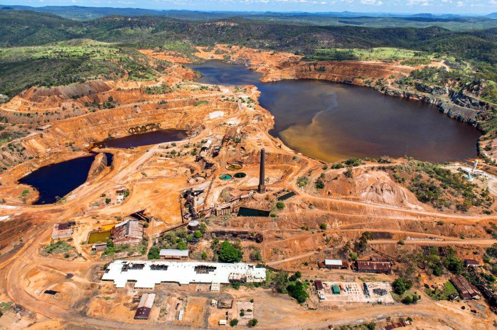 Carbine Resources' Mt Morgan mine is another major project in the pipeline.