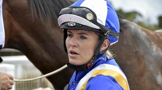 Former Toowoomba apprentice Emma Ljung is looking to make a mark in Clifford Park's senior riding ranks.