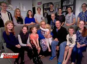 How Australia's largest family saves money at Christmas