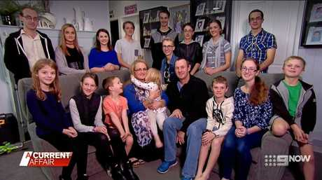 The Bonell family on A Current Affair.