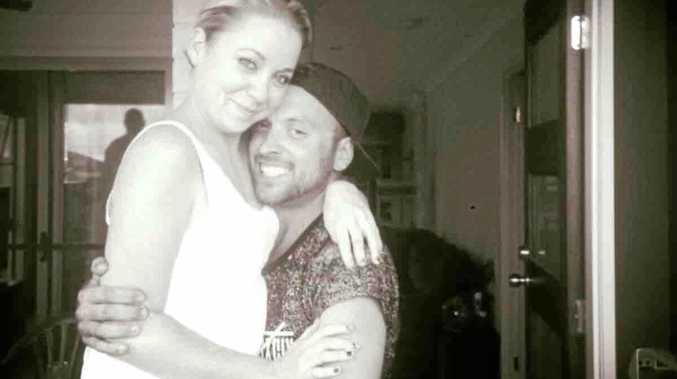 TRAGEDY: Ellie Dunn and Matt Hamilton in happier times.