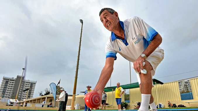 Christchurch bowler Graeme Weeds has been coming to the Coast for the winter carnival for 25 years.