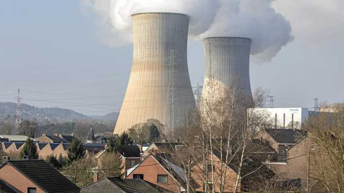The nuclear power plant in Tihange, Belgium.