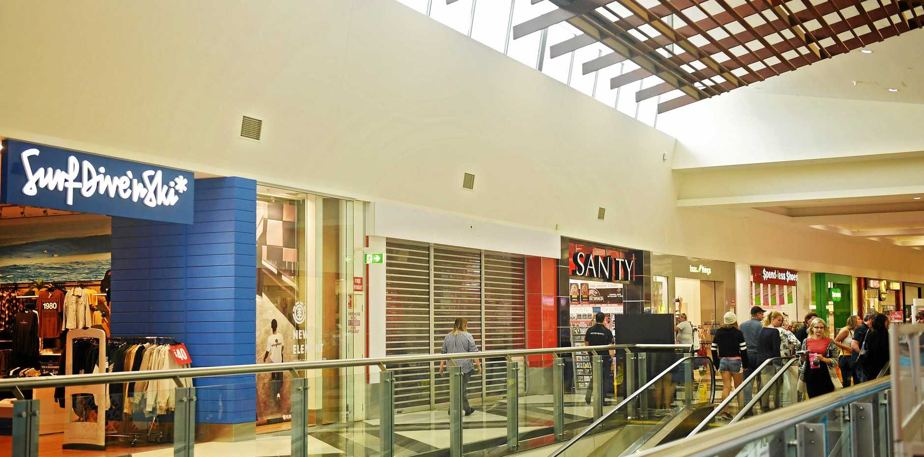 GOODBYE: Madhouse Discounts have closed their doors after nine years at the Gympie Central Shopping Complex.