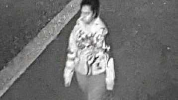 BRUNCHES FIRE: Police release image of a woman who could assist them with their inquiries.