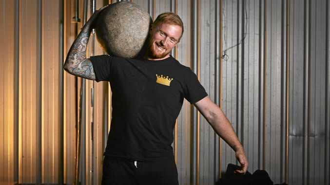 Strongman Ricky Ludlow.