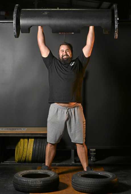 Strongman Kyle Greene.
