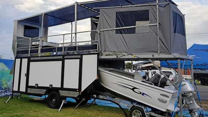 TRAVEL IN STYLE: An Australian-first prototype of the most innovative camper trailer in Australia.