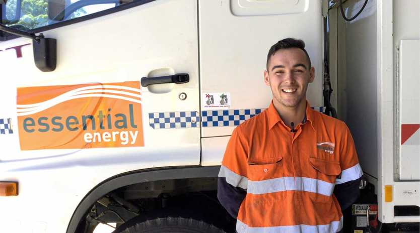 Applications close soon for those looking to kick-start a career at Essential Energy like apprentice Electrical Technician Coen Latimore.