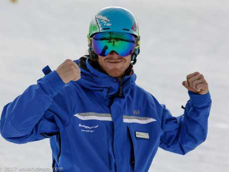 Mr Williams moved into the race department after beginning work at the resort's ski school. Picture: Facebook