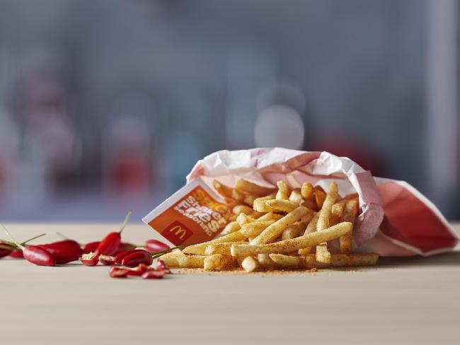 Spicy shaker fries … a new twist on the classic French fry.
