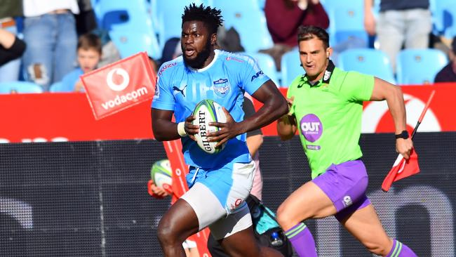 Jamba Ulenga of the Bulls in action at Loftus Versfeld. Picture: Johan Rynners/Gallo