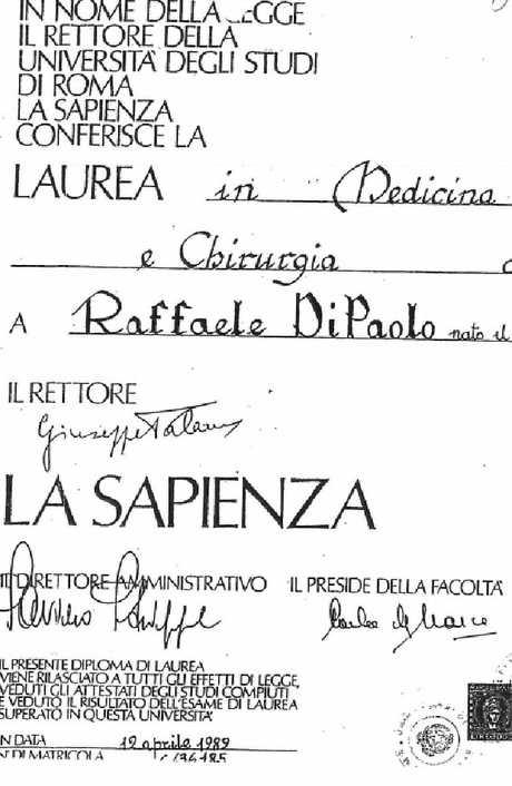 Documents reveal fake doctor Raffaele Di Paolo's 10-year con.