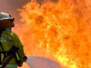Caution urged as four fires burn