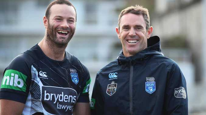 Brad Fittler and Boyd Cordner
