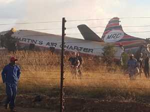 One dead, about 20 injured after plane crash in South Africa