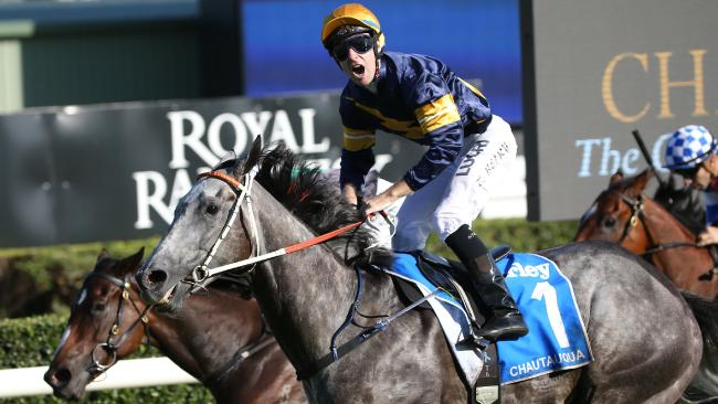 Tommy Berry on Chautauqua after taking out the TJ Smith in 2017. Picture: David Moir/AAP