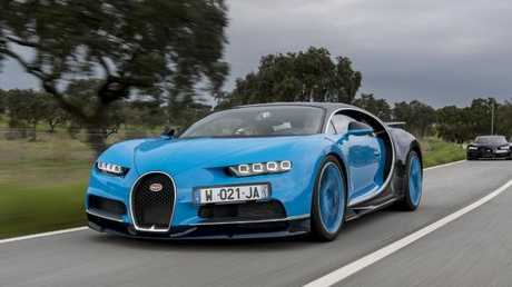 Life in the fast lane: The Bugatti Chiron