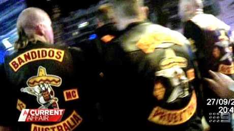 Footage from the Broadbeach bikie brawl which sparked the crackdown Photo: A Current Affair