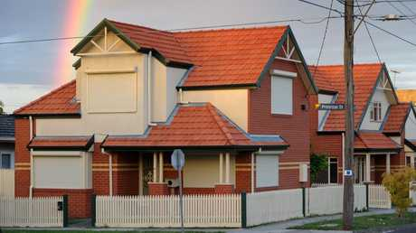 Dhakota's gangland inheritance, the house at Primrose St, Essendon, has been shot up and firebombed in the past. Source: Supplied