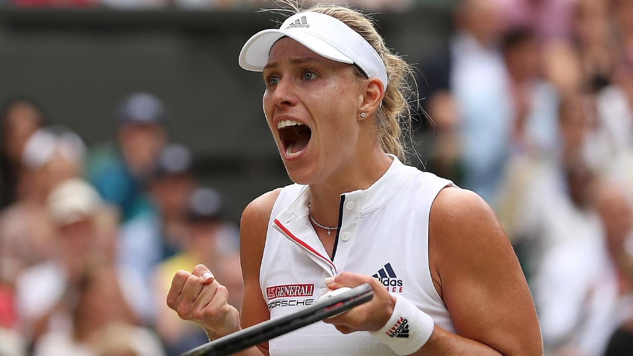 Angelique Kerber is out to replicate her great run of Wimledon of 2016.