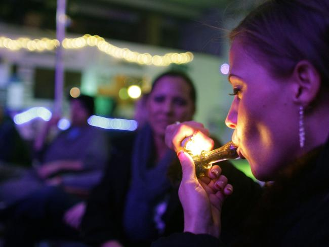 Marijuana is now legal in many US states, including Colorado, where users have been pushing for legalisation for many years. Picture: Brennan Linsley / AP