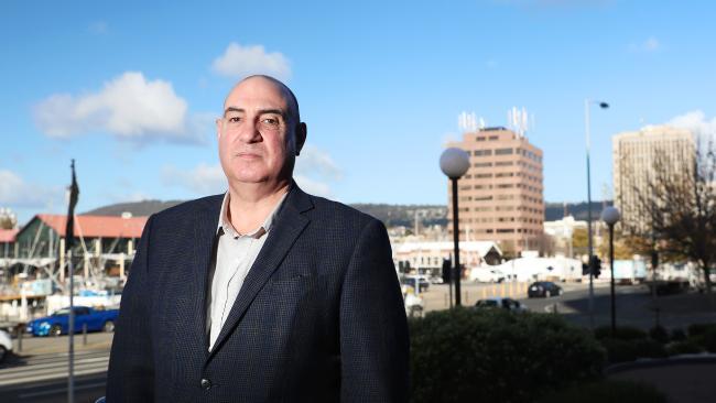St. Vincent de Paul Society national CEO John Falzon. Picture: Luke Bowden