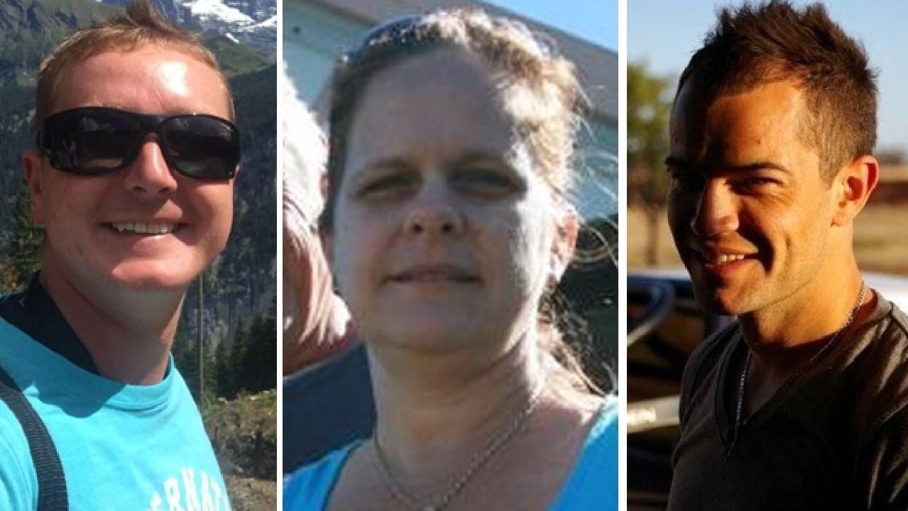 Toby Turner, Kerri Pike and Peter Dawson were killed in a skydiving incident at Mission Beach.