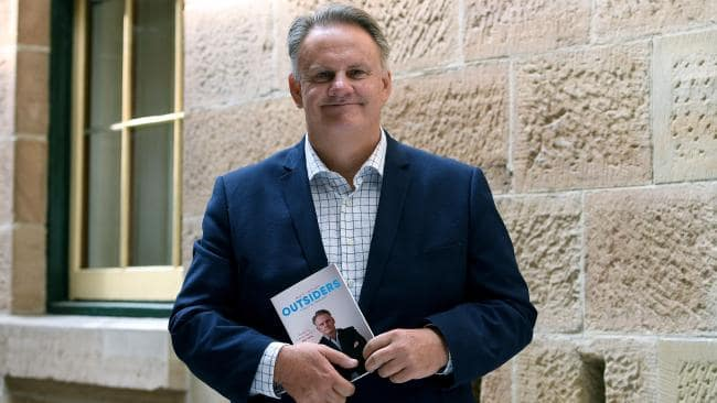 Former Labor leader Mark Latham has launched his new book. Picture: AAP Image/Dan Himbrechts