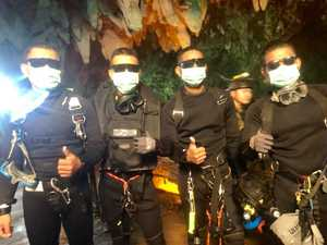 'ALL BOYS ARE OUT': Cave rescue 'miracle'