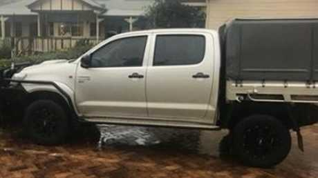 A stolen vehicle police believe has been dumped in Toowoomba streets or the surrounding rural communities.