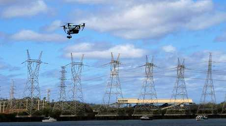Half of the work done by Aerial Media Gladstone is industry-related.