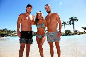 Spaniards loving the Aussie sunshine in Airlie Beach