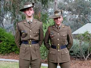 Gympie soldiers march out at Kapooka in top roles