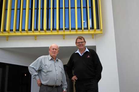 DYNAMIC DUO: Ian Tresillian and Bruce White.