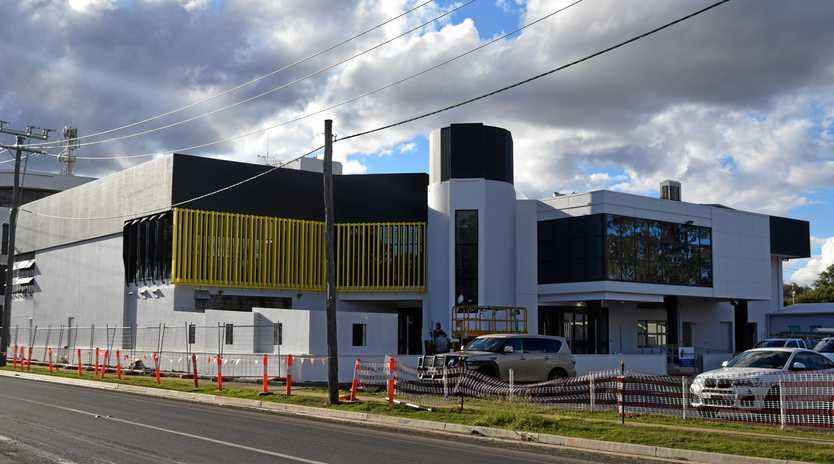 WELCOME BACK: The old Dalby RSL building is close to being reopened for retail and commercial purposes.